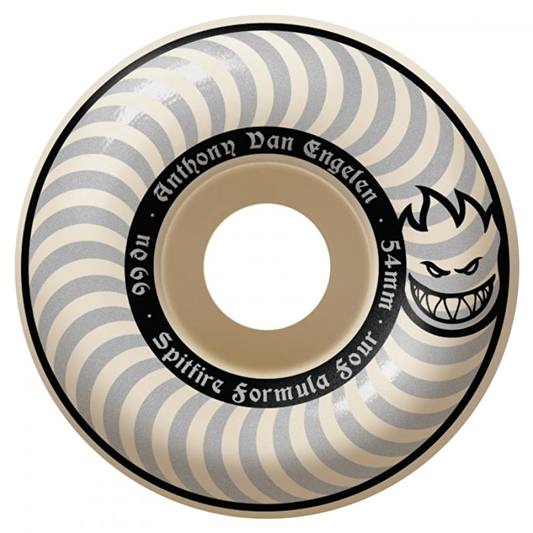 Spitfire Formula Four A.V.E. Whiteout Skateboard Wheels