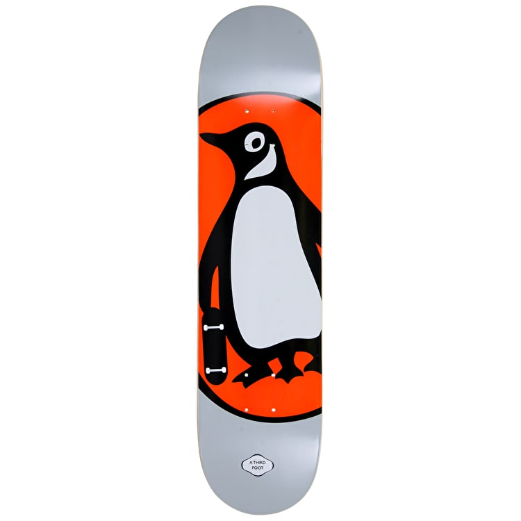 A Third Foot Penguin Books Skateboard Deck - Grey - 7.75""