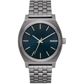 Nixon Time Teller Watch - Gunmetal/Indigo