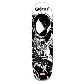 Grizzly x Venom Pen & Ink Cruiser Skateboard Deck