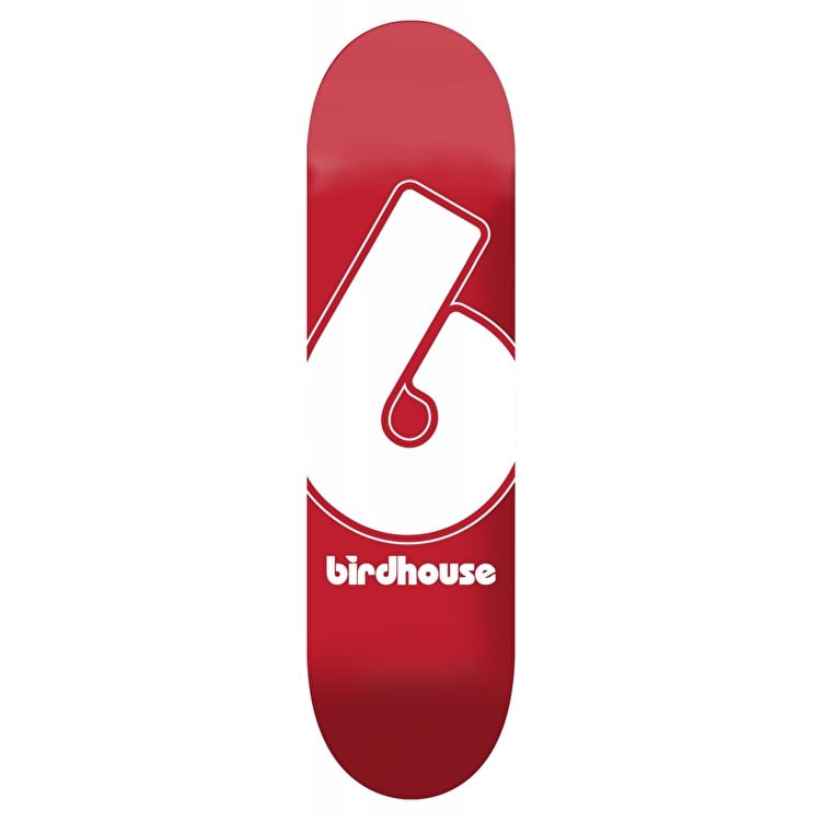 Birdhouse Giant B Logo Skateboard Deck - Red 8""