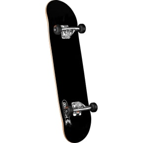 Mini Logo Small Bomb Complete Skateboard - Black 8