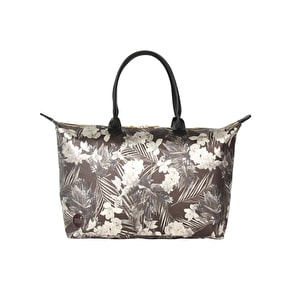 Mi-Pac Weekender Tropical Metallic Handbag - Black