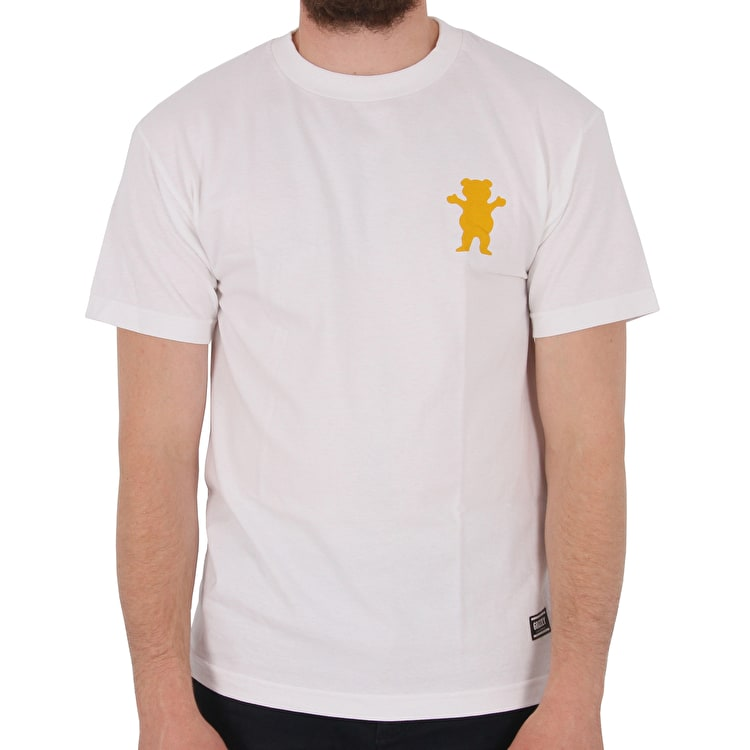 Grizzly Mount Joslin T-Shirt - White