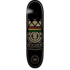 Element Nyjah Concave Logo Skateboard Deck - 8.125