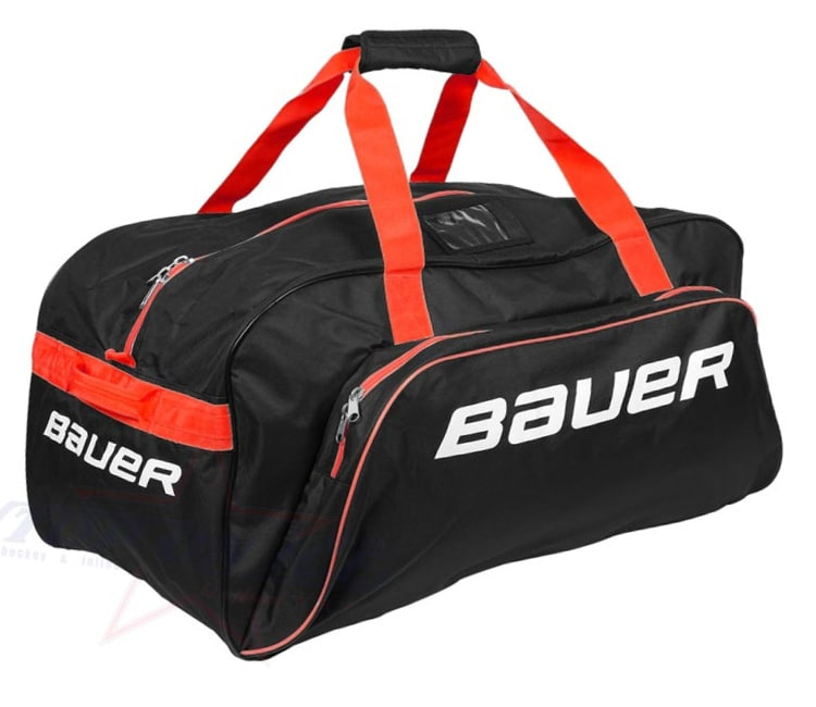 Image of Bauer Core Carry Bag - Large - Black/Red