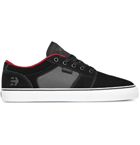 Etnies Barge LS Shoes - Black/Charcoal/Red