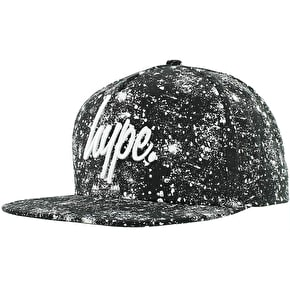 Hype Speckle Cap - Black/White
