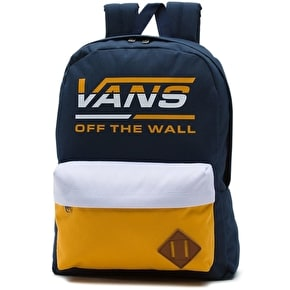 Vans Old Skool II Backpack - Dress Blues/Golden Glow