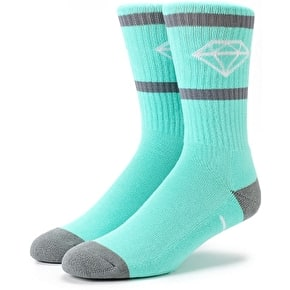 Diamond Rock Sport Socks - Diamond Blue