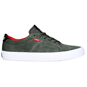 Lakai Flaco Skate Shoes - Forest Suede