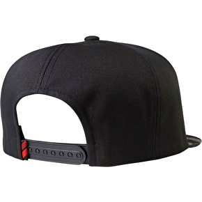 Fox Obsessed Snapback Cap - Black Camo