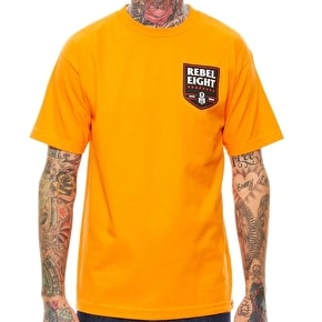 Rebel8 Death Squad T-Shirt - Orange