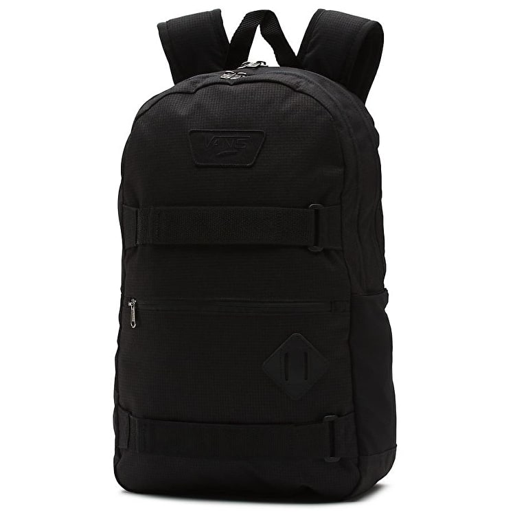 Vans Authentic III Skate Backpack - Concrete Black
