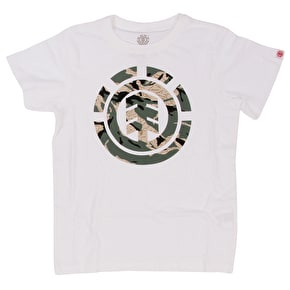 Element Mimic Kids T-Shirt - Optic White