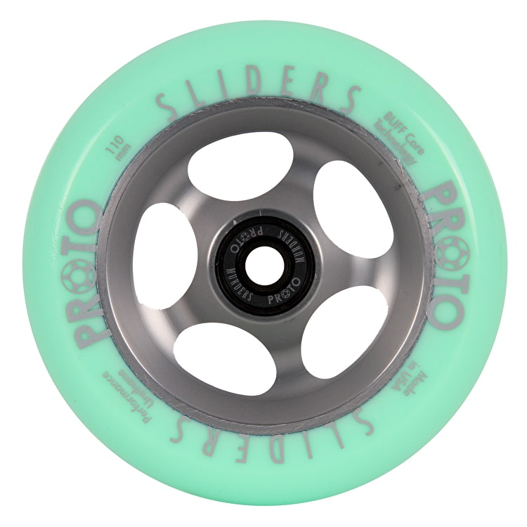 Proto Slider Faded Pro 110mm Scooter Wheel - Green