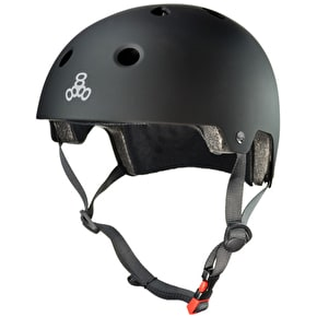 Triple 8 Brainsaver Helmet - All Black