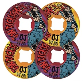 OJ Wheels Skateboard Wheels - Last Thoughts Dickson Swirl 53mm