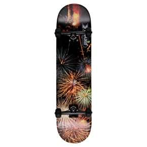 Mini-Logo Custom Skateboard - Fireworks 8
