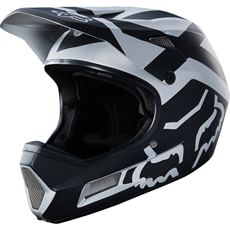 Fox Rampage Comp Full Face Helmet - Black/Chrome