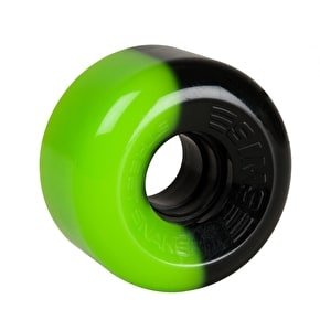 Sims Street Snakes 2 Tone 62mm Quad Roller Skate Wheels - Green/Black