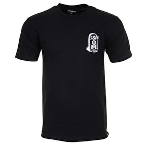 Rebel8 Young Till Death T-Shirt - Black