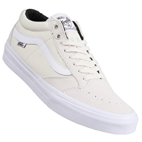 Vans TNT SG Skate Shoes - White/White