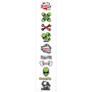 MGP 10 Pack Sticker Sheet - Series 1