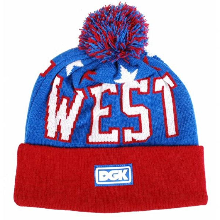 DGK West Coast Beanie - Royal