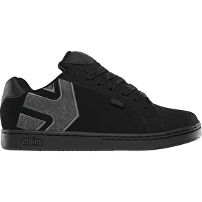 Etnies Fader Skate Shoes - Black/Heather