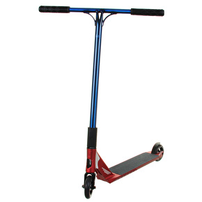 UrbanArtt Custom Scooter - Banshee Red/Trans Blue