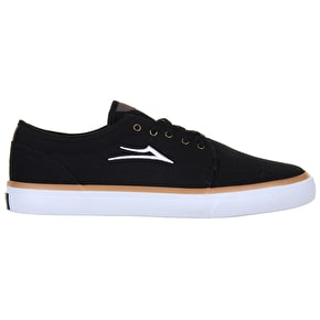 Lakai Madison Skate Shoes - Black Canvas