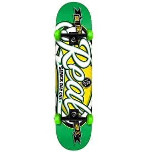 Real Oval Custom Complete Skateboard - Green 7.5