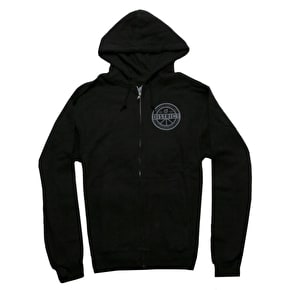 District Supply Co. Legit Zip Hoodie - Black