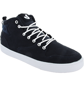 DVS Elm Shoes - Navy Suede