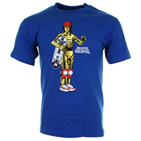 Skate Mental D3PO T-Shirt - Blue