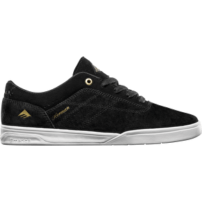Emerica The Herman G6 Skate Shoes - Black/White/Gold