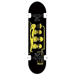 Alien Workshop Skateboard - Abduction Black/Gold 8.125`