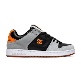 DC Manteca Skate Shoes - Grey/Black/Orange