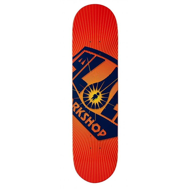 Alien Workshop Logo Skateboard Deck - OG Burst 8.0""