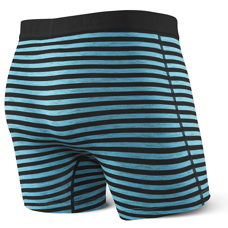 Saxx Vibe Boxers - Black Space Hiker Stripe