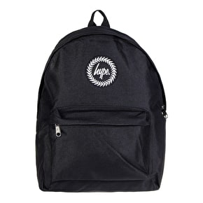 Hype Badge Backpack - Black
