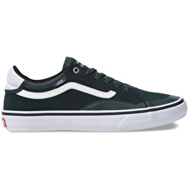 Vans Advanced Prototype Skate Shoes - (Mesh) Darkest Spruce/True White