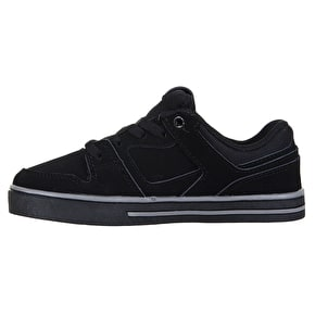 DVS Everett Lo Kids Skate Shoes - Black