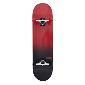 Rocket Fade Series Complete Skateboard - Red/Black 8