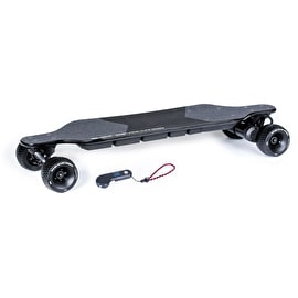 Slick Revolution Flex-E Bamboo Electric Skateboard (Both Wheel Sets Included)