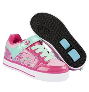 Heelys X2 Thunder - Berry/Light Pink/Mint UK 2 (B-Stock)