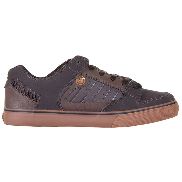 DVS Militia CT Skate Shoes - Brown Gum