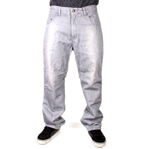 Urban Kreation Regular Fit Kevlar lined Jeans - Grey