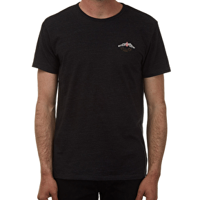 Volcom Weegee T-Shirt - Heather Black
